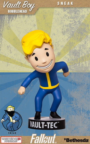 Fallout Vault Boy Bobble Head Series 2  Sneak