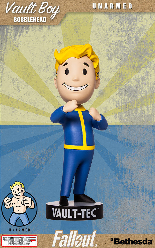 Fallout 4 Vault Boy 111 Bobble Head Series 2 Intelligence