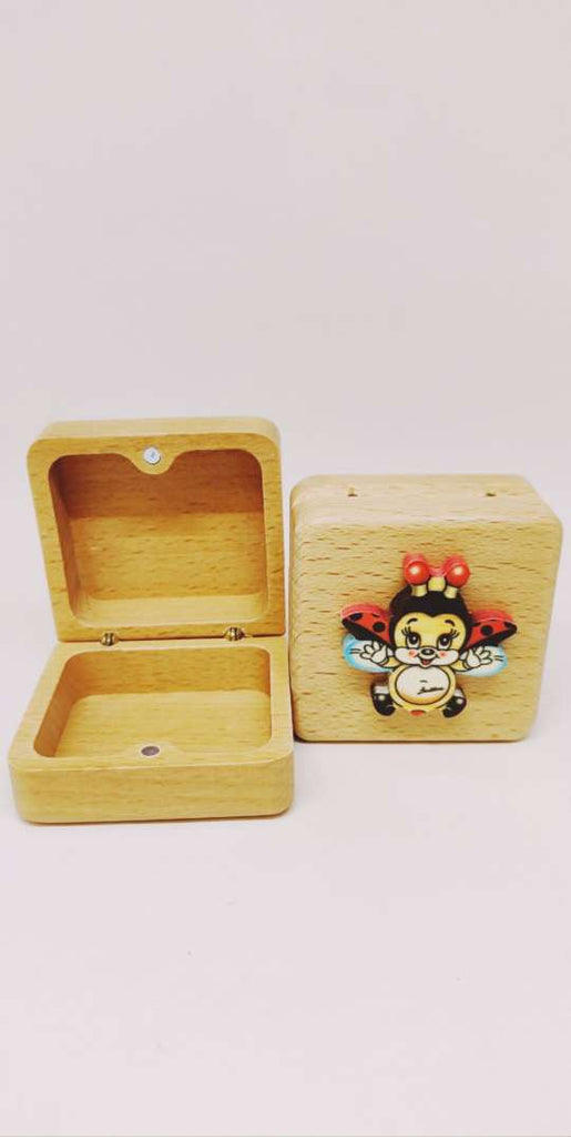 Bartolucci Extra Small Case Square Flying Ladybird