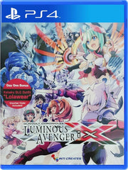 Gunvolt Chronicles: Luminous Avenger iX P4 front cover