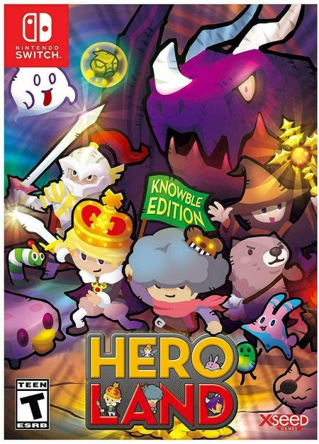 HeroLand - Knowble Edition - Nintendo Switch front cover
