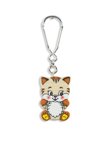 KEYHOLDER CAT WITH BIG HEAD BIG