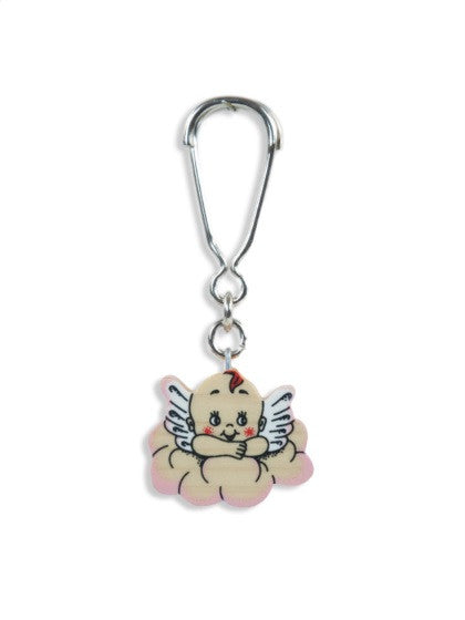 Keyholder Cloud Angel Pink sml