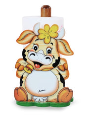 Kitch. Paper Holder with base Cow