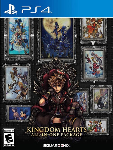 Kingdom Hearts All-in-One Package P4 front page