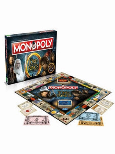 Monopoly  Lord of the Rings Trilogy