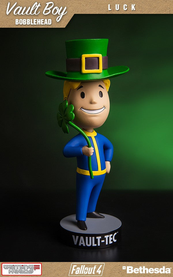 Fallout 4 Vault Boy Bobble Head Series 3 Luck