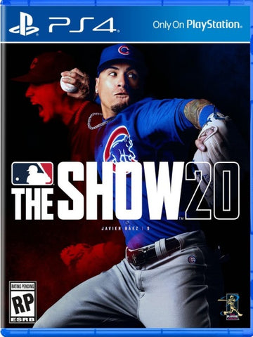 MLB The Show 20 PS4 front cover