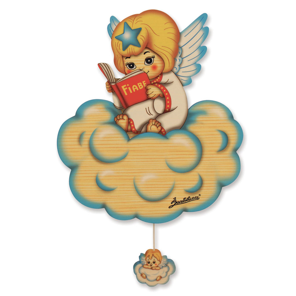 Bartolucci MUSIC BOX STD FAIRYTALE BLUE ANGEL