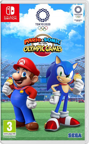 Mario and Sonic at the Olympic Games Tokyo 2020 NSW front cover
