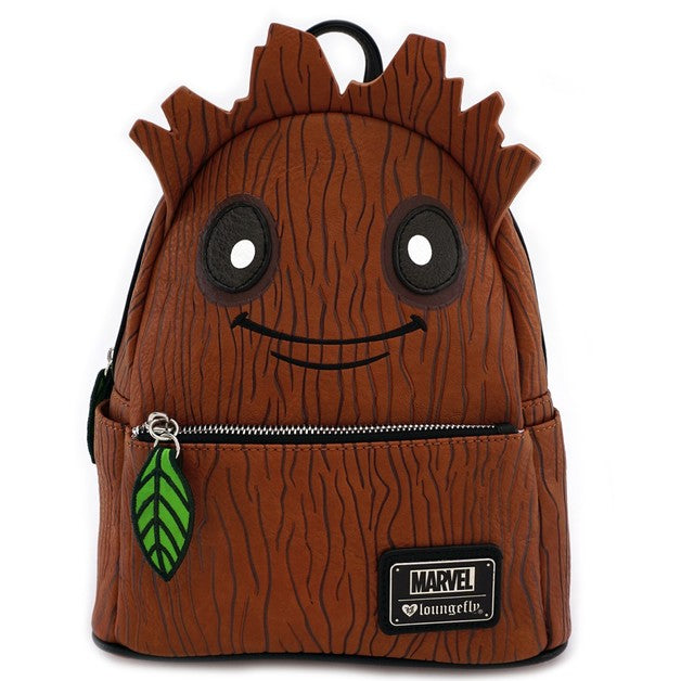 Marvel Guardians Groot Leaf Mini Backpack by Lounglefly