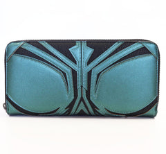 Marvel Hela Cosplay Zip Around Wallet  by Lounglefly