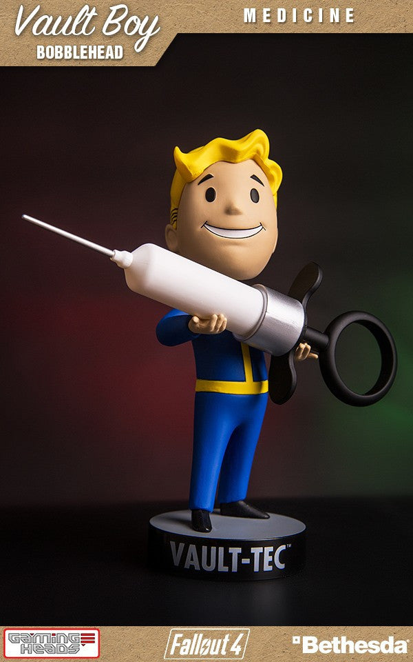 Fallout Vault Boy Bobble Head Series 3 Medicine