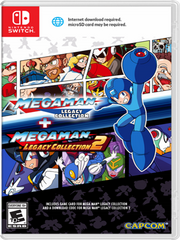 Mega Man Legacy Coll. 1+2 Nintendo Switch front cover