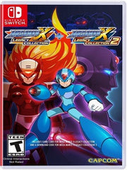 Mega Man X Legacy Collection 1+2 NSW front cover