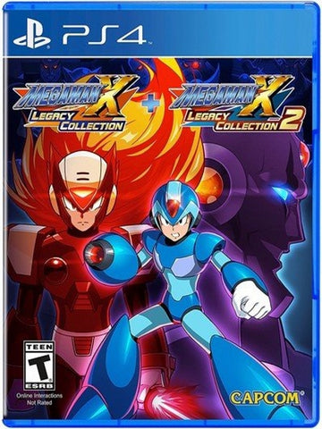 Mega Man X Legacy Collection 1+2 P4 front cover