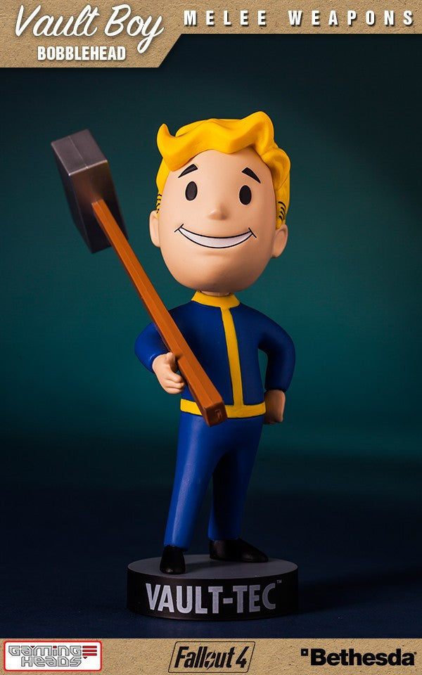 Fallout Vault Boy Bobble Head Series 1 Melee Weapons