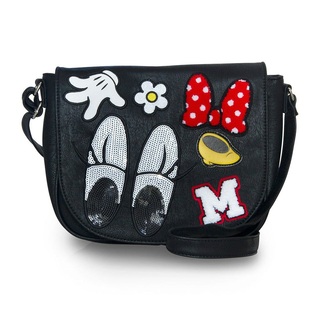 Disney Minnie Patches Crossbody Bag by Loungefly