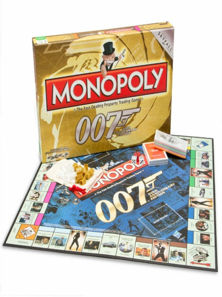 Monopoly 007 Bond 50th anniversary