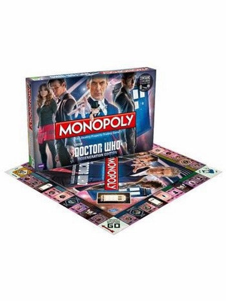 Monopoly Doctor Who Regeneration