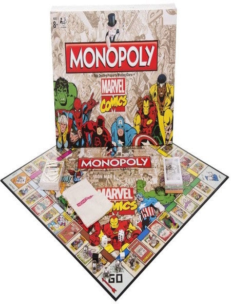 Monopoly Marvel Comics Retro Ed.
