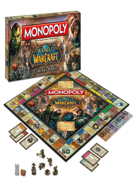 Monopoly World OF Warcraft Collectors