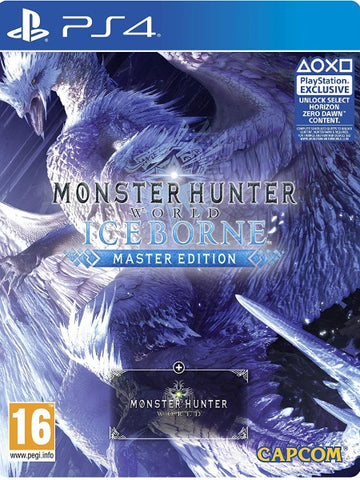 Monster Hunter World Iceborne Master Edition SteelBook P4 front cover