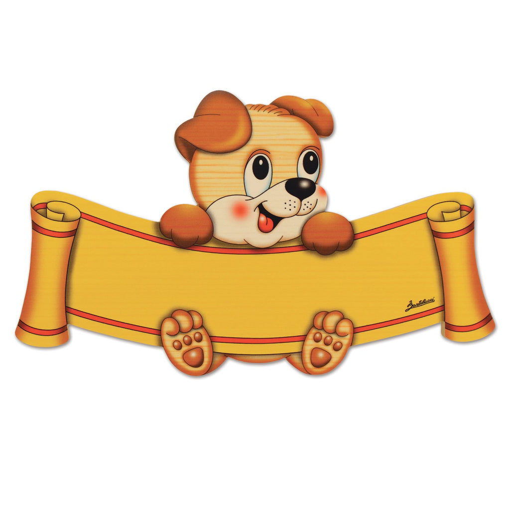 Bartolucci Name Plate Dog big