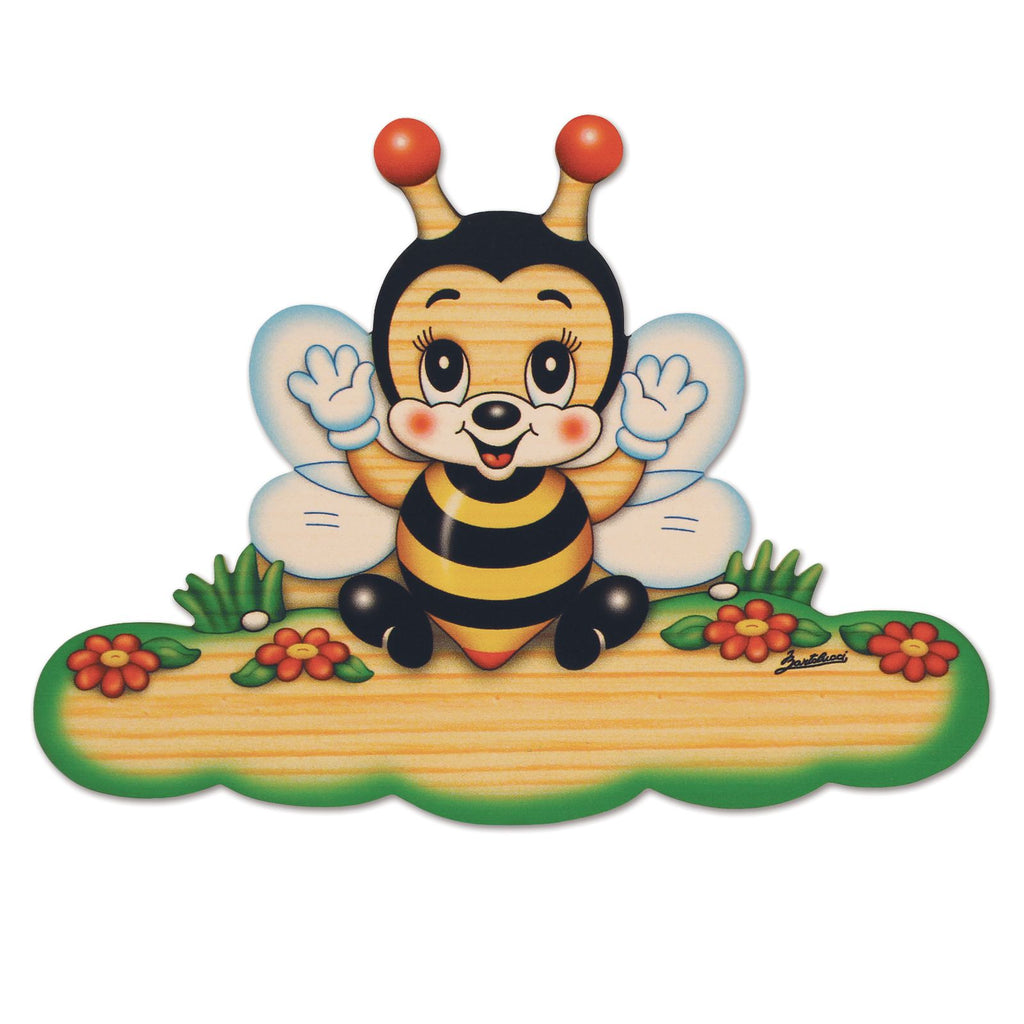 Bartolucci Name Plate Magnetic Bee med