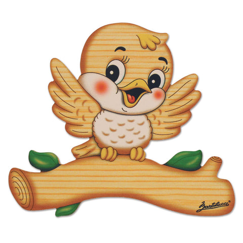 Bartolucci Name Plate Magnetic Bird med