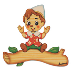 Bartolucci NAME PLATE MAGNETIC MED PINOCCHIO
