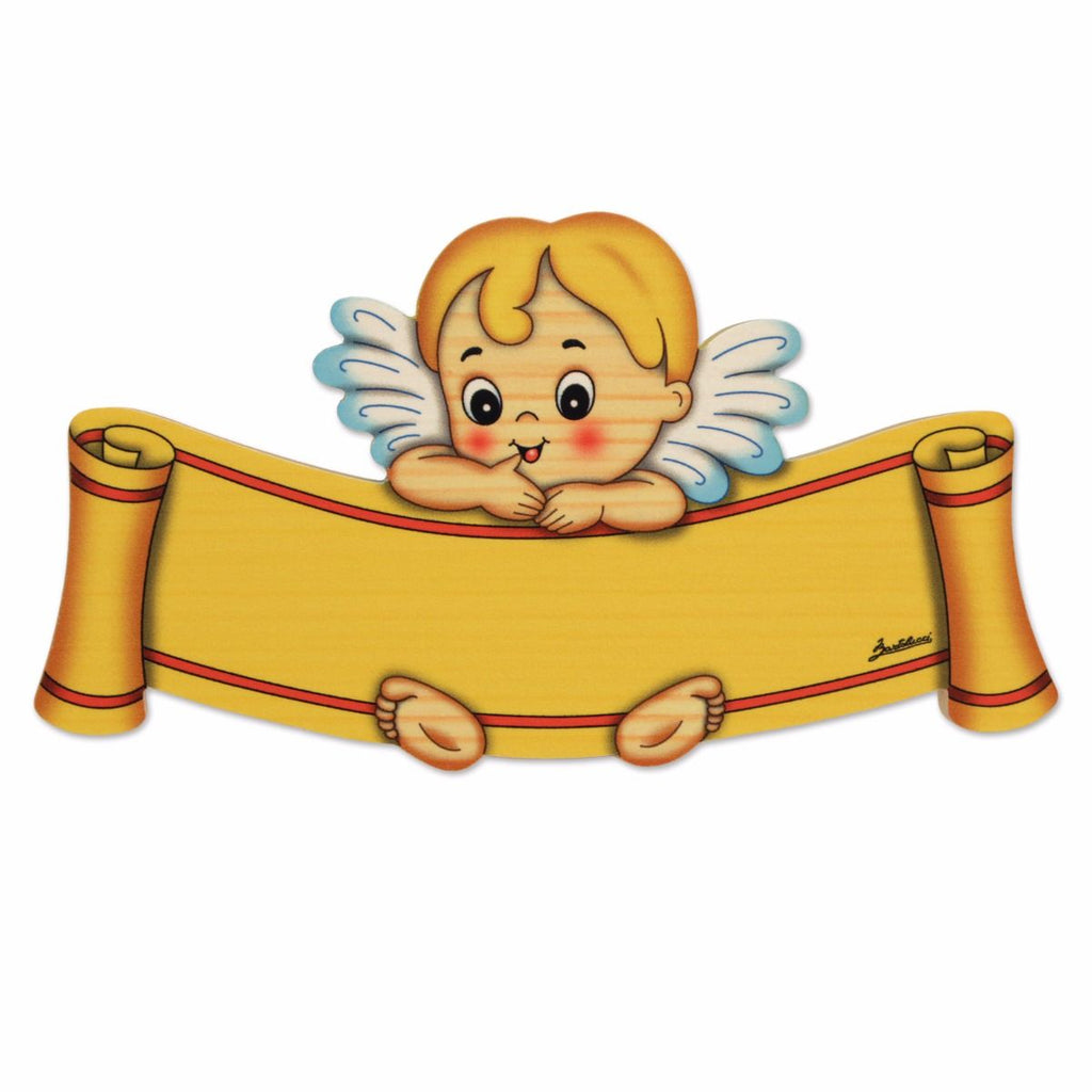 Bartolucci Name Plate Blue Angel sml