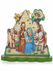 SMALL NATIVITY SCENE MOUNTAIN