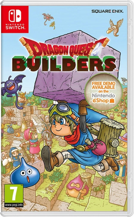Dragon Quest Builders 2 NSW front cover