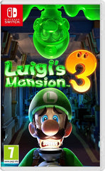 Luigi's Mansion 3 Standard Edition NSW front page