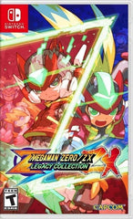 Mega Man Zero Zx Legacy Collection NSW front page