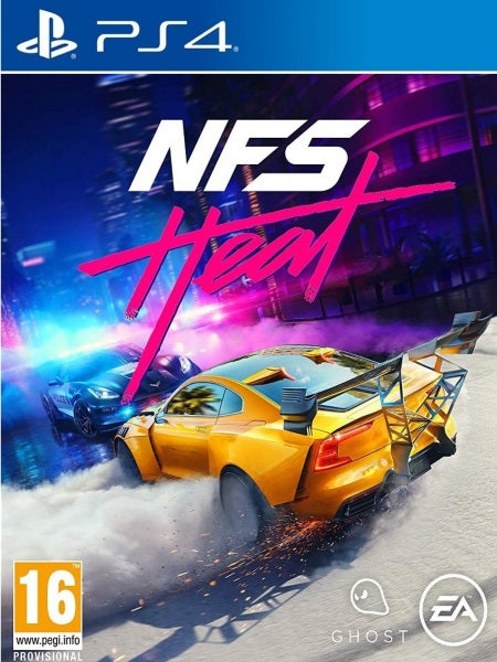 Need for Speed Heat P4 front cover