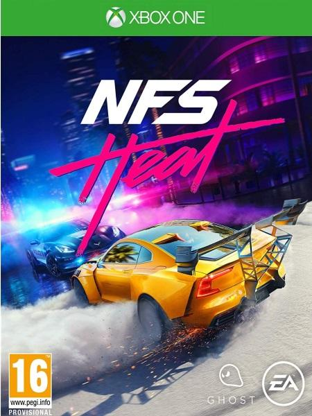 Need for Speed Heat XB1 front cover