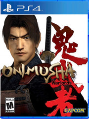 Onimusha: Warlords P4 front cover