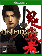 Onimusha: Warlords XB1 front cover