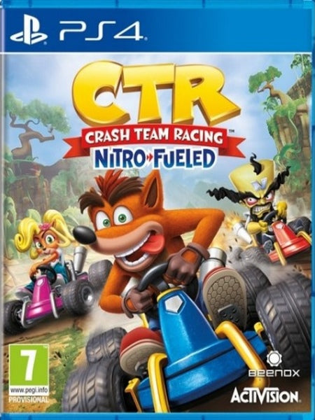 Crash Team Racing - Nitro Fueled P4 front cover