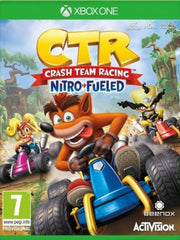 Crash Team Racing Nitro Fueled XB1 front cover