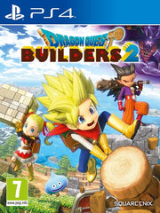 Dragon Quest Builders 2 PS4 front cover