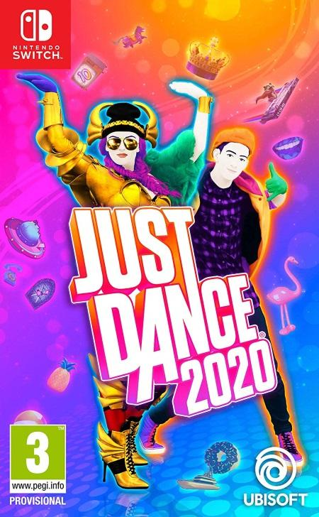 Just Dance 2020 (Nintendo Switch) front cover