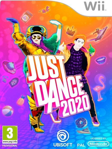 Just Dance 2020 (Nintendo Wii) front cover