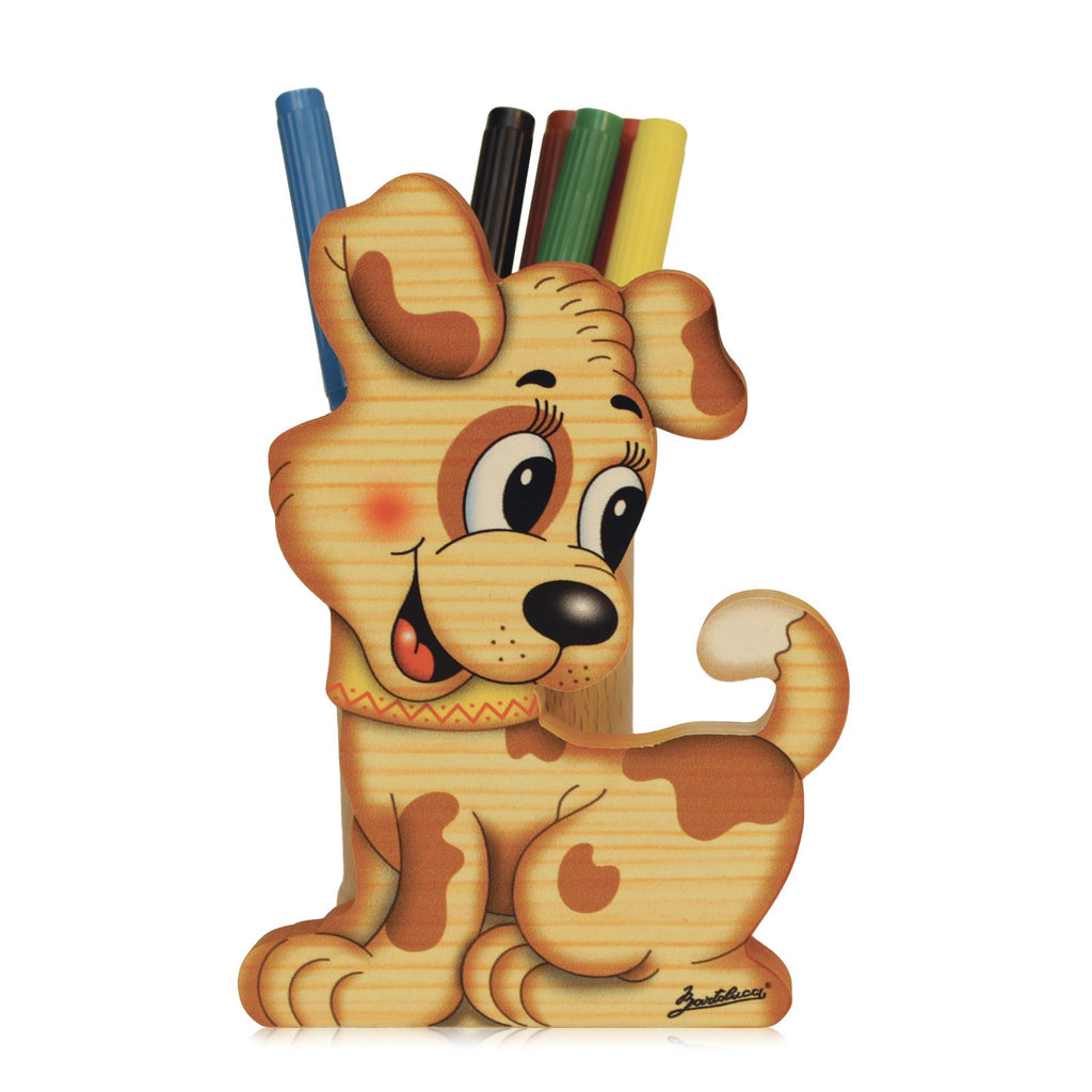 Bartolucci Pen Holder New Dog sml