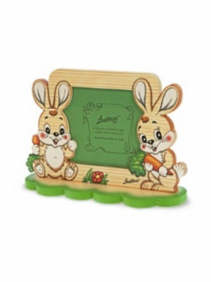 Bartolucci PICTURE HOLDER 2 RABBITS