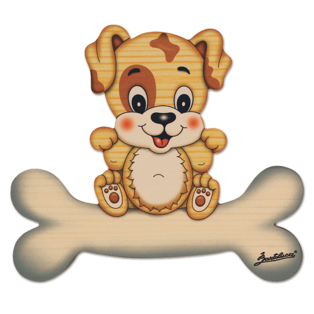 Bartolucci NAME PLATE MAGNETIC SML DOG