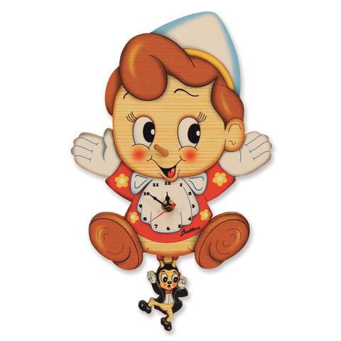 Bartolucci Clock with pendulum Pinnochio