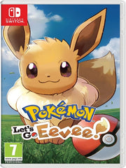 Pokémon: Let's Go, Eevee!  NSW front cover